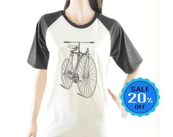 Bicycle shirt short sleeve shirt Graphic shirts funny tees women top unisex shirt size S M L