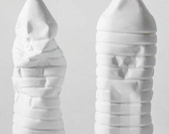 Porcelain Bottle - vase, jug