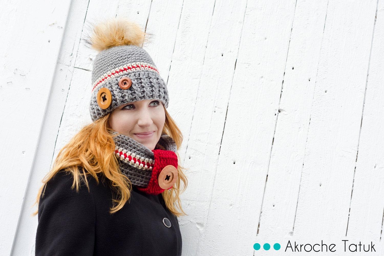 ensemble style bas de laine tuque bonnet cache cou snood. Black Bedroom Furniture Sets. Home Design Ideas