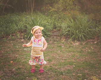 Spring Boutique ruffle outfit, baby girl outfit, boutique clothing, ruffle shorts, toddler outfit, spring floral outfit, ruffled