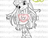 Super Cute Hat Digital Stamp