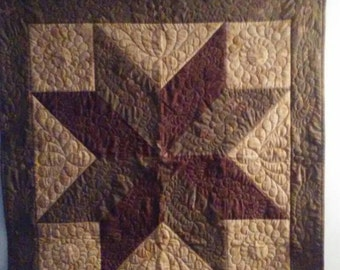 Quilted Star Wall Hanging
