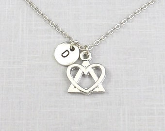 Adoption Necklace, Adopting,  Personalized Adoption Symbol, Foster Parent, Adoption Jewelry, Born My Heart, Gotcha Day, Mothers
