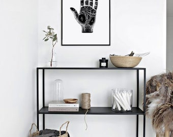 Palmistry print | Etsy