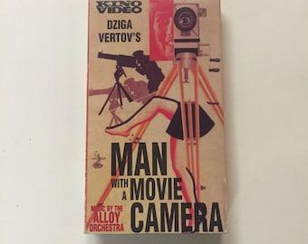 Man With a Movie Camera (VHS) Dziga Vertov
