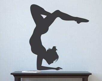 Gymnastics Wall Art gymnast wall art | etsy
