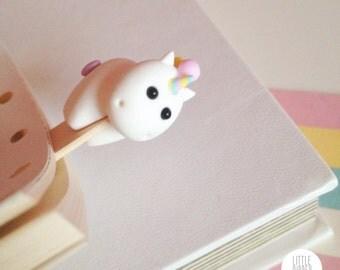 Unicorn (rainbow horn) Bookmark