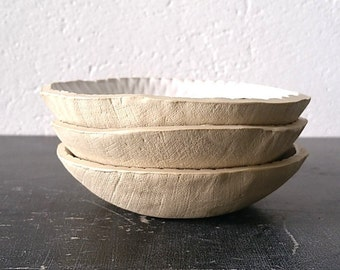 matt white bowl (dia. 12 cm)