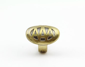 Antique AAA Car Key Ring - Size 10.5 - American Automobile Association - Classic Cars - Repurposed - Handcrafted - Automobilia - Collectible