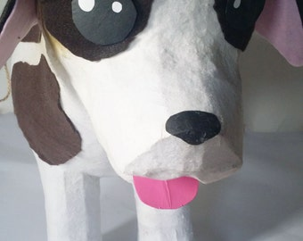Designers Pinata Delux Soft to the touch St. Bernard Dog Pinata for Local Clients Only | Animal Pinata | Puppy Dog Theme | Fun Party Game