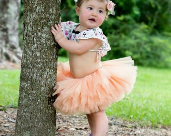 On Sale Peach Tutu - Peach Newborn Tutu - Peach Bridesmaid Tutu - Peach Maternity Tutu - Peach Toddler Tutu - Peach Adult Tutu