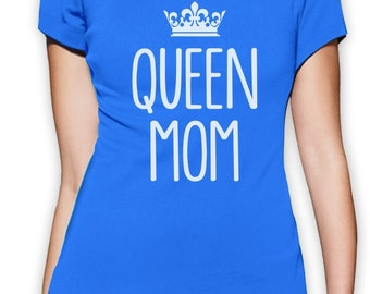 Queen Mom Women's Short Sleeve T-Shirt