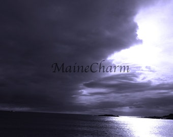 Storm Moving In - Indigo - Matinicus Island - Maine Photography
