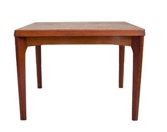 Mid Century Støle og Møblefabrik Teak Side Table – Made in Denmark
