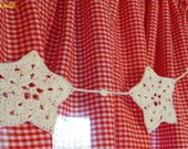 Consider the Stars ~ Hand Crocheted Star Bunting