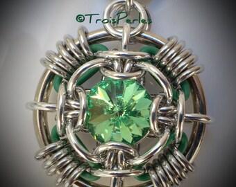 Rivo Rubba - Tutorial and Kit - Color Peridot / green