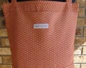 NEW:  Reusable Grocery Bag - Burnt Orange