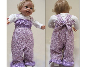 Romper sewing pattern for babies and toddlers PLAYGROUND ROMPER sizes 3 mths to 6 yrs, cute toddler romper