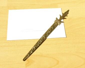Vintage Metal Letter opener, Envelope knife