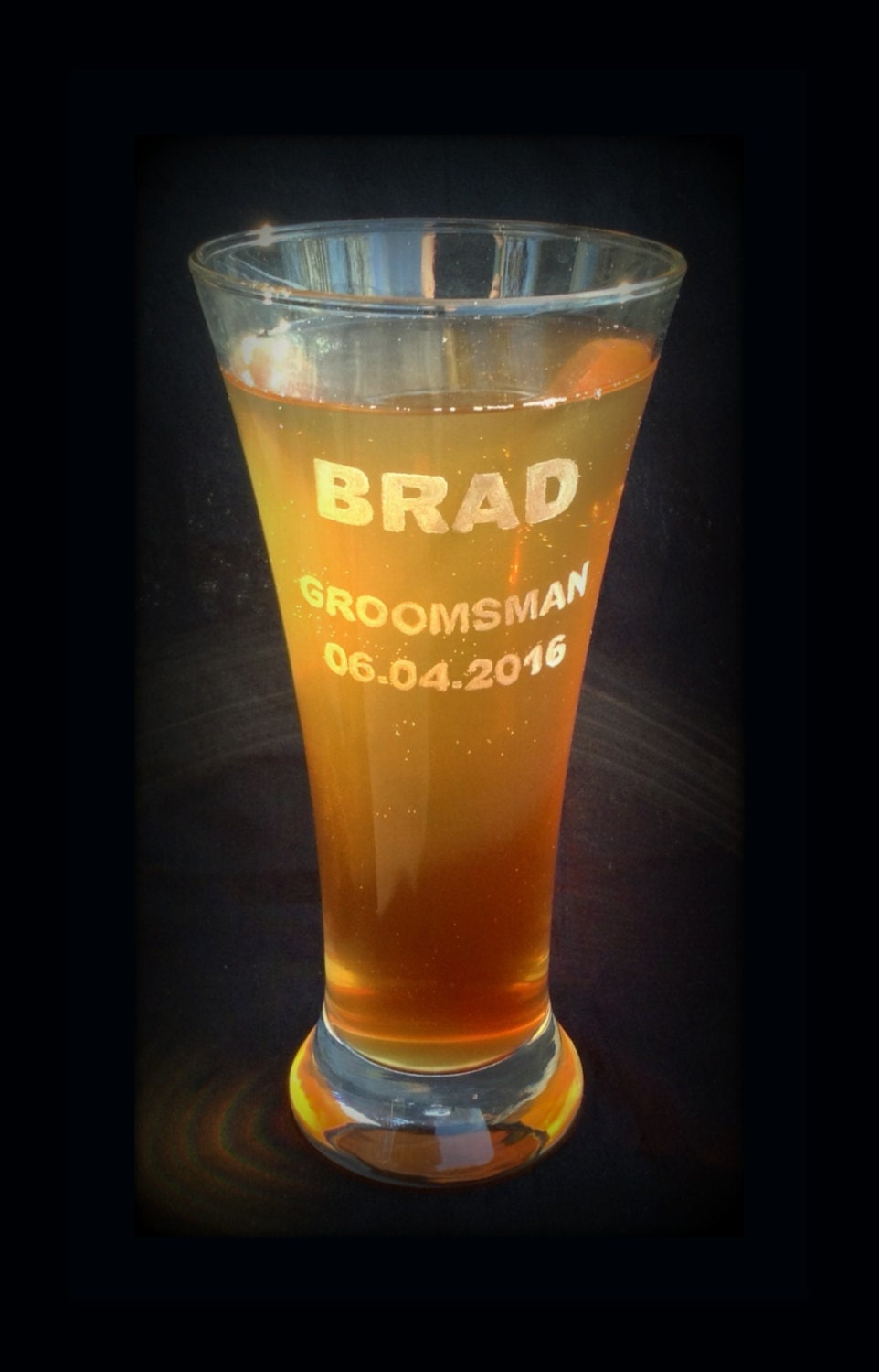 Cheap Personalized Wedding Beer Mugs : Personalized Beer Glasses Personalized Pilsner Glass Glasses