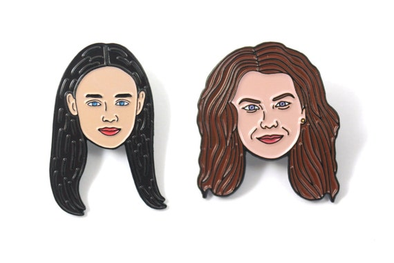 Gilmore Girls Enamel Pin Set