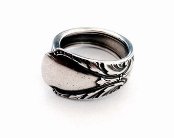 Vintage Silver Spoon Ring - Circa 1940