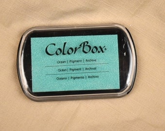 Ocean Color Box Ink Pad - Archival Pigment Ink (Item 15201)