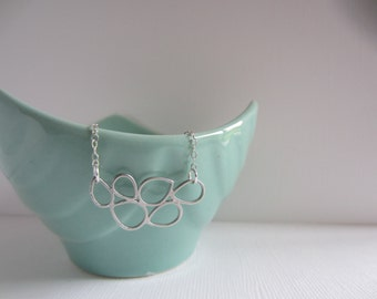 Drops Necklace - Chain Sterling Silver