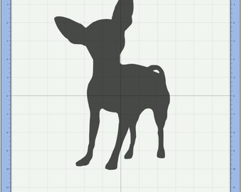 Chihuahua SVG cutting file /  Mexican dog