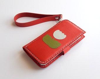 iphone 5c wallet iphone 5c wallet case leather iphone 5c wallet leather phone case vermilion iphone 5c case