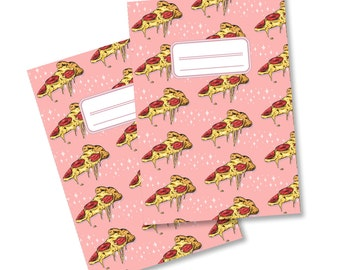 PIZZA A5 Recycled Notebook