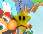 GOING OUT of BUSINESS-- 75% off Super Mario 64-inspired Star necklace