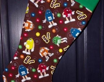 M&M's Christmas Stocking