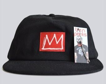 Crown Snapback Cap. Snapback Hats, Mens Hats, Black Caps