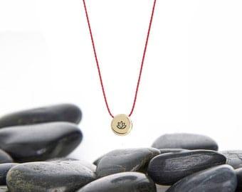 Yoga Jewelry, Lotus Flower, Yoga Necklace, Lotus, Lotus Jewelry, Lotus Charm, Lotus Pendant, Gold Lotus Necklace, Tiny Lotus Necklace, 245tB