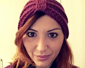 Turban hat vintage