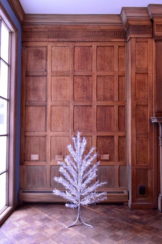Vintage Aluminum Christmas Tree Small Aluminum Tree Silver