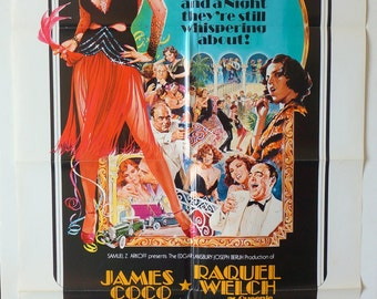 "The Wild Party  Movie Poster  ""The Wild Party""   Original 1975 Movie Poster One-Sheet - James Coco and Raquel Welch"