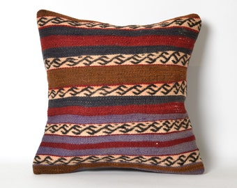 woven pillow, rustic decor, pillow covers, antique pillow, cushion covers, navajo pillow, pillow kilim, turkish rug, kilim rug pillow