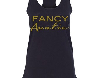 On SALE Aunt Tank Top, Best Auntie Gifts, T Shirt for Auntie, Special Auntie Gifts, Personalized Auntie Present, My Aunt Rocks, Aunt Tank