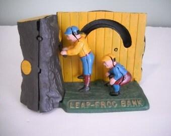 Leap Frog Mechanical Bank
