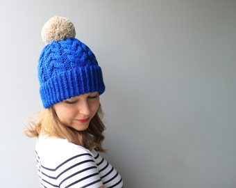 CUSTOMIZE- Choose from Available Colours - Wool & Acrylic / Sandy Hat / Wool Hat /Pom Pom beanie / Slouchy Beanie
