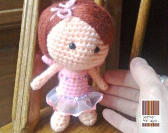 Amigurumi doll - Red hair doll - Fairy - Crochet doll - Crocheted doll - Amigurumi Fairy doll - Crochet Fairy doll
