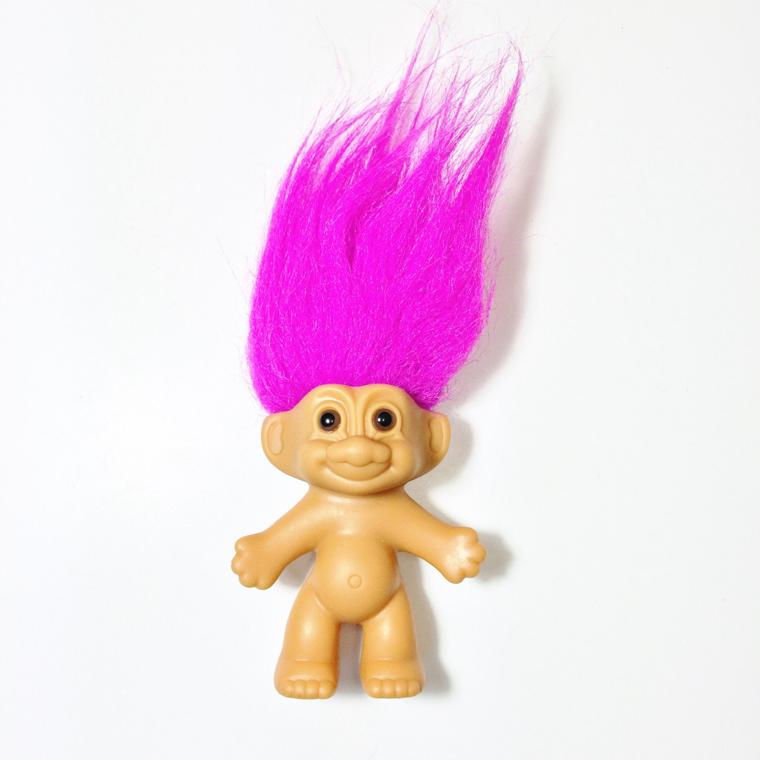 Purple Haired Troll Doll Russ Troll Doll Kawaii Grunge