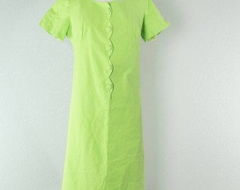 1970's Velma // Shift Dress // M-L