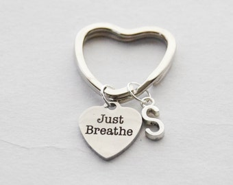 Just Breathe Charm Etsy