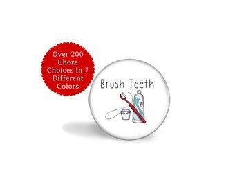 Kids Chore Chart Magnets - Chore Magnet - Magnetic Chore Chart Magnet - Custom Chore System - Chore Chart Magnets - Family Chore Board