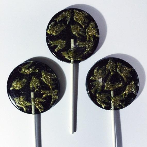3 Golden Birds Lollipops
