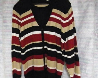 Alfred Dunner Acrylic Sweater. 2X