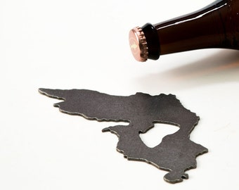 Lake Superior Steel Bottle Opener